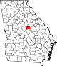 80px-Map_of_Georgia_highlighting_Baldwin_County.svg