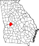 80px-Map_of_Georgia_highlighting_Taylor_County.svg